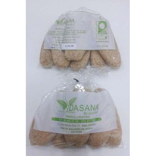 Panecillos de salvado de Avena y salvado de trigo