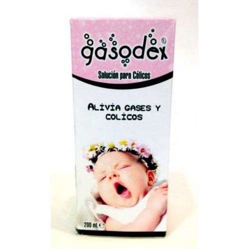Gasodex ( solución para gases y cólicos bebes)