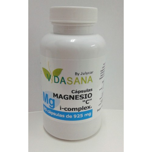 "Citrato de Magnesio ( Magnesio ""C"" i-complex ) VidaSanaByJulycar"