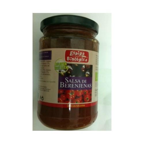 Salsa berenjenas vegetal ESPIGA BIOLÓGICA