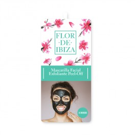 Mascarilla facial exfoliante peel-off