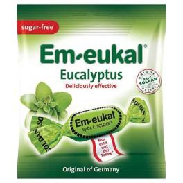 Caramelos sabor eucalipto sin azúcar