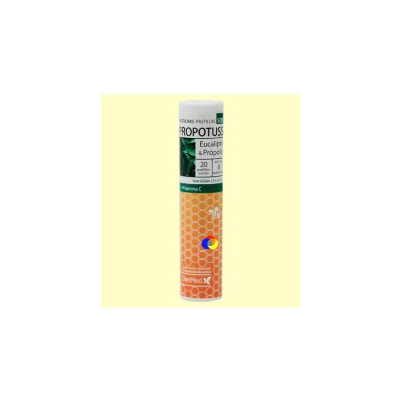 Propotuss Pastillas de eucalipto y propolis