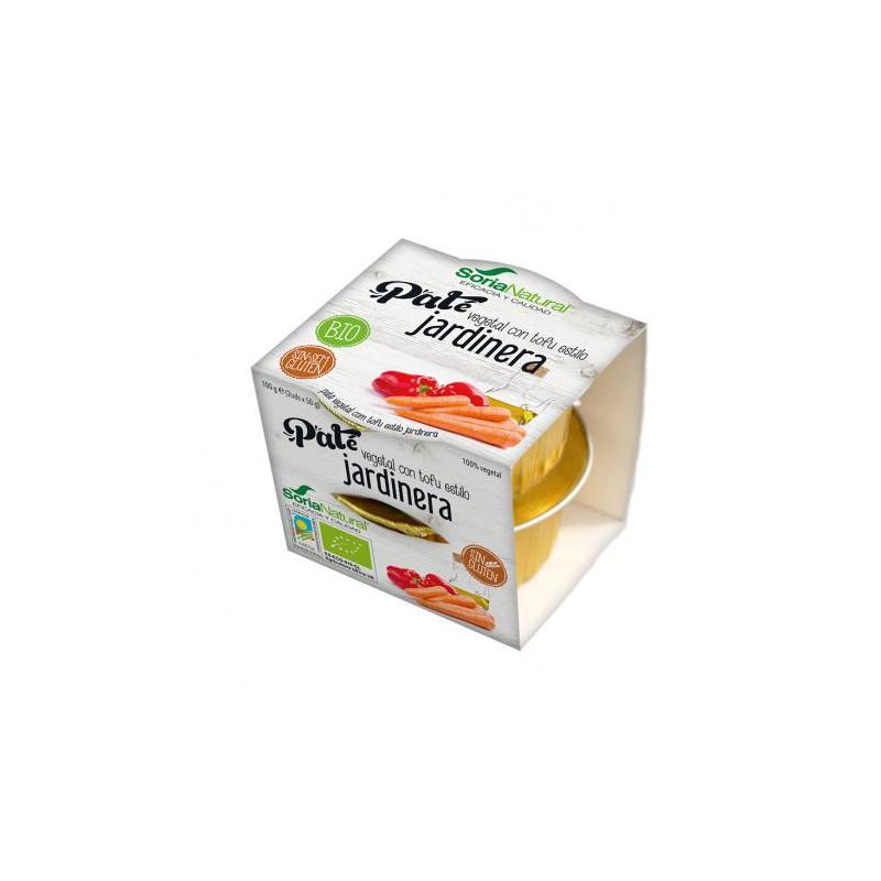 Paté vegetal con tofu estilo jardinera BIO SORIA NATURAL