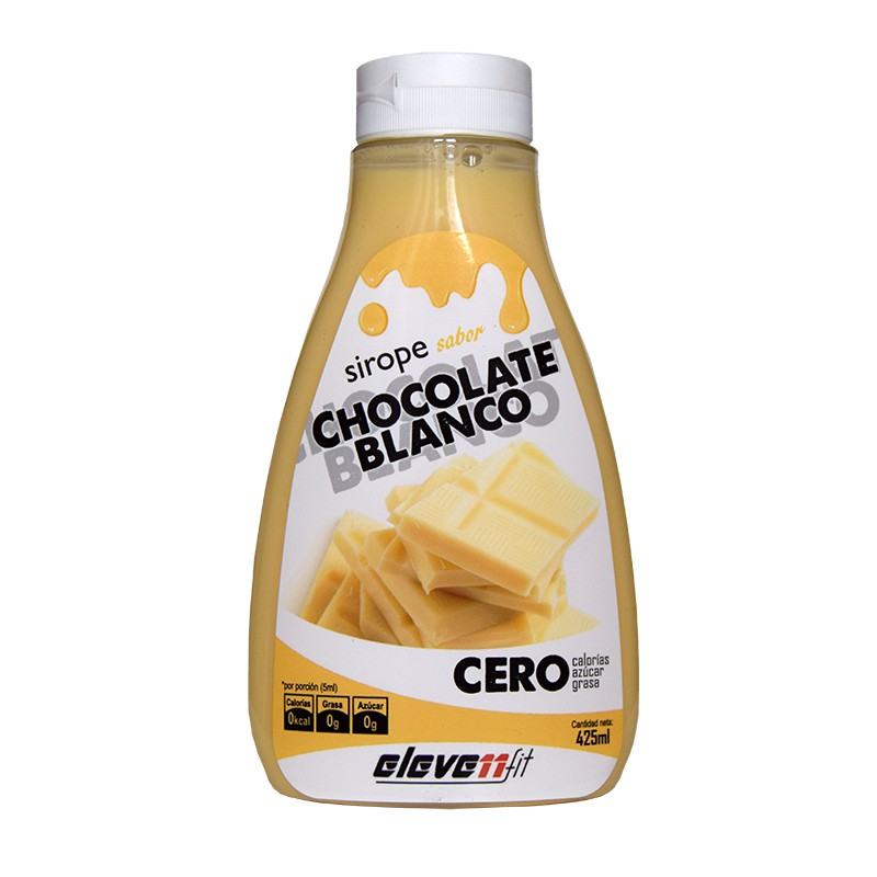 Sirope chocolate blanco 0% azúcares ELEVENFIT