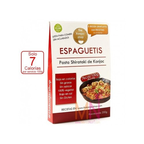 Espaguetis Tallarines Pasta Konjac