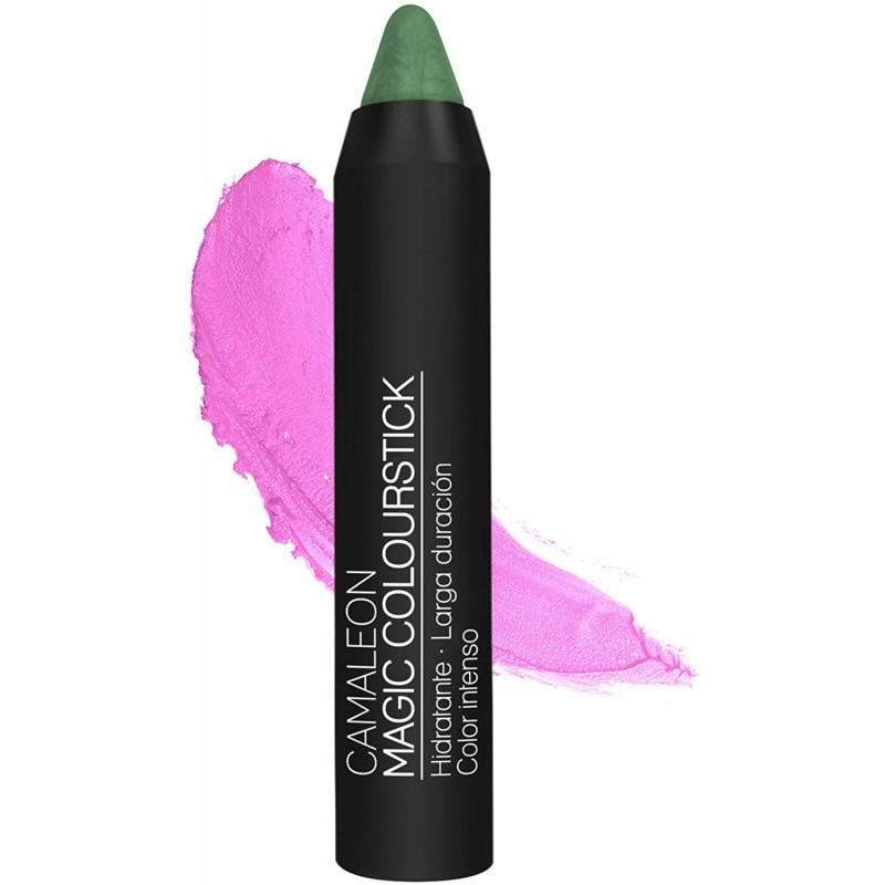 Barra de labios permanente Camaleon Color Verde (Rosa )