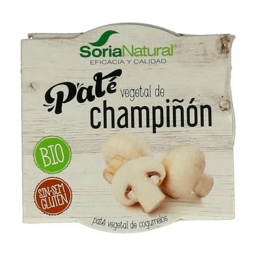 Paté vegetal champiñon BIO SORIA NATURAL