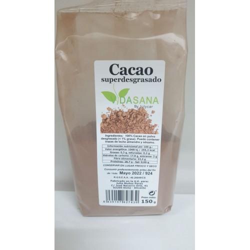 CACAO SUPERDESGRASADO 0,3% VIDASANABYJULYCAR