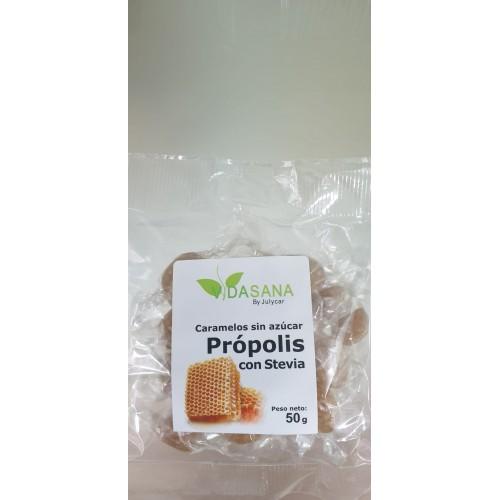 Caramelos de propolio sin azúcar