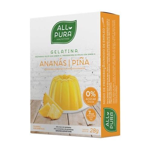 Gelatina Piña sin azucar con edulcorante