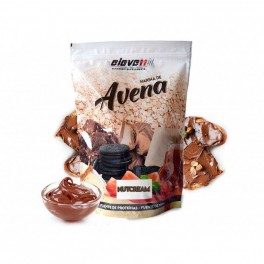 Harina de Avena sabor nutcream con edulcorante