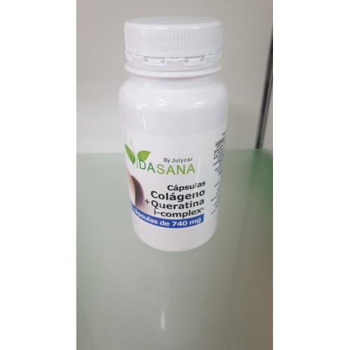 Colágeno+Queratina i-complex VidaSanaByJulycar