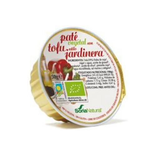 Paté vegetal con tofu estilo jardinera SORIA NATURAL