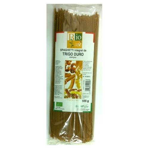 Espagueti integral de trigo duro bio