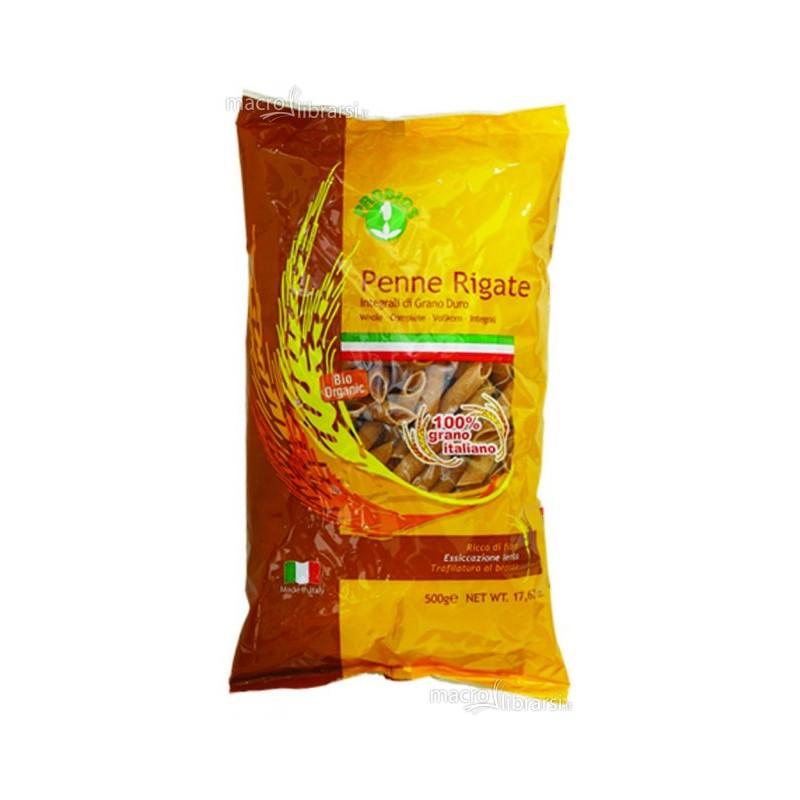 Macarrones -Penne Rigate integral de trigo duro