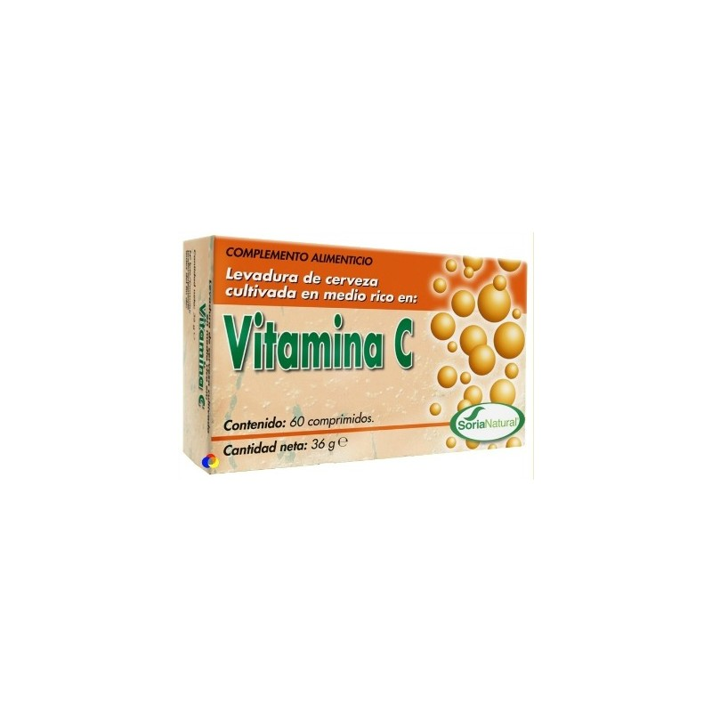Vitamina C Soria Natural comprimidos