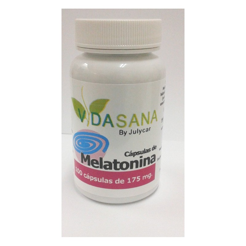 Melatonina VidaSanaByJulycar