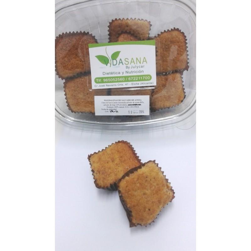 Cupcakes ó magdalenas de salvado de avena VidaSanaByJulycar