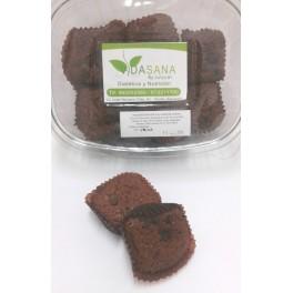 Cupcakes choco de salvado de avena VidaSanaByJulycar